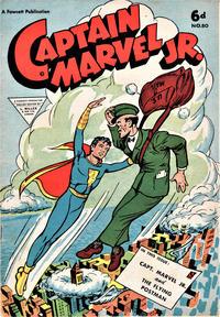 Cover Thumbnail for Captain Marvel Jr. (L. Miller & Son, 1950 series) #80