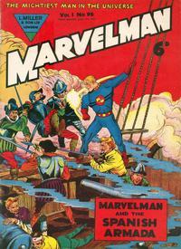 Cover Thumbnail for Marvelman (L. Miller & Son, 1954 series) #96