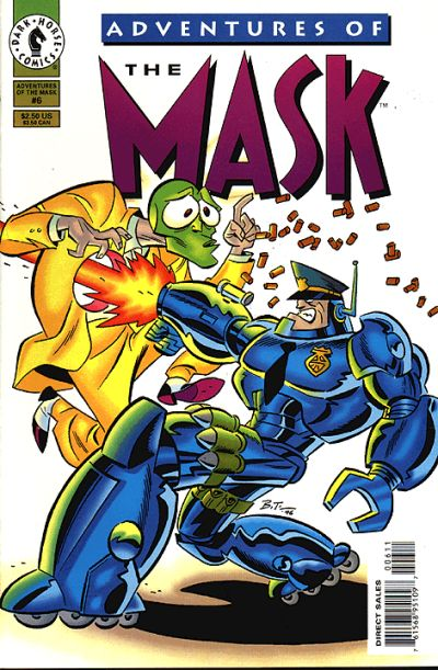 Cover for Adventures of the Mask (Dark Horse, 1996 series) #6
