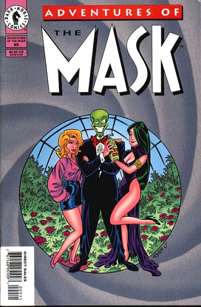 Cover for Adventures of the Mask (Dark Horse, 1996 series) #9