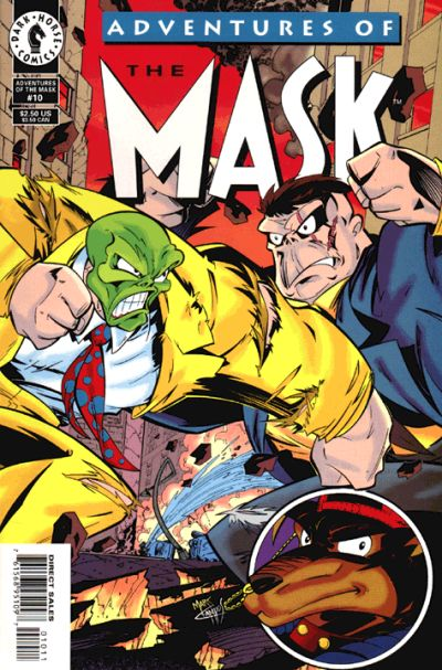 Cover for Adventures of the Mask (Dark Horse, 1996 series) #10