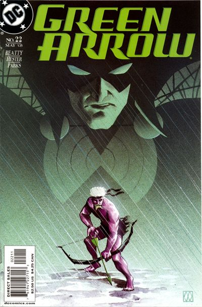 Cover for Green Arrow (DC, 2001 series) #22