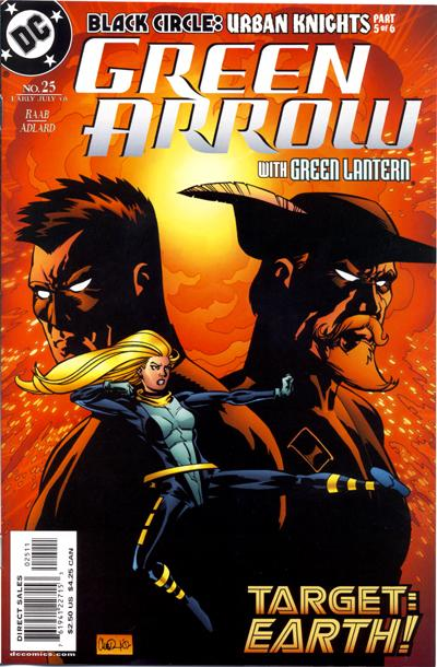 Cover for Green Arrow (DC, 2001 series) #25