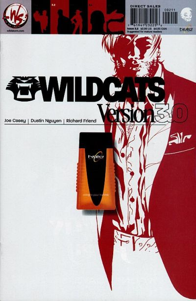 Cover for Wildcats Version 3.0 (DC, 2002 series) #2