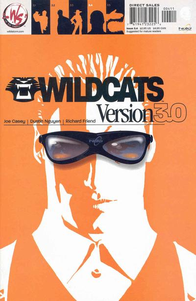 Cover for Wildcats Version 3.0 (DC, 2002 series) #4