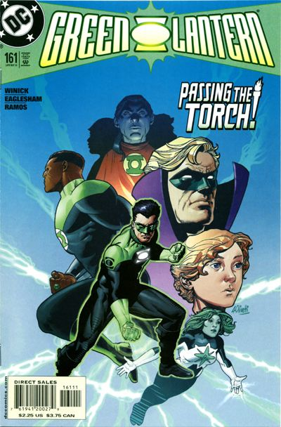 Cover for Green Lantern (DC, 1990 series) #161 [Direct Sales]