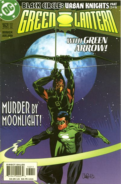 Cover for Green Lantern (DC, 1990 series) #162