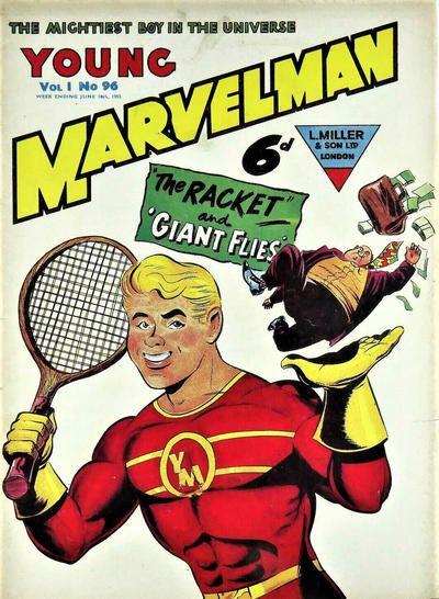 Cover for Young Marvelman (L. Miller & Son, 1954 series) #96