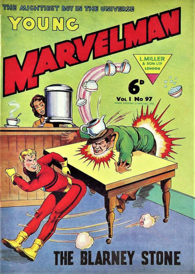 Cover for Young Marvelman (L. Miller & Son, 1954 series) #97