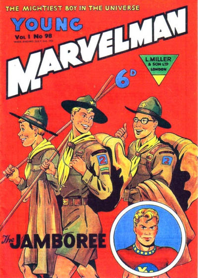 Cover for Young Marvelman (L. Miller & Son, 1954 series) #98