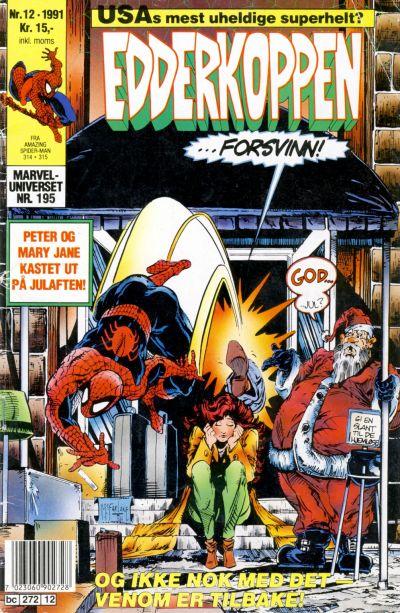 Cover for Edderkoppen (Semic, 1984 series) #12/1991