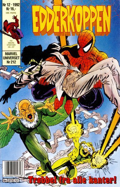 Cover for Edderkoppen (Semic, 1984 series) #12/1992