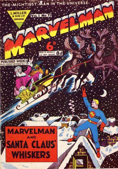 Cover for Marvelman (L. Miller & Son, 1954 series) #71