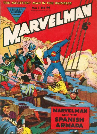 Cover for Marvelman (L. Miller & Son, 1954 series) #96