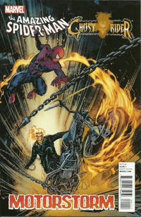 Cover Thumbnail for Amazing Spider-Man/Ghost Rider: Motorstorm (Marvel, 2011 series)