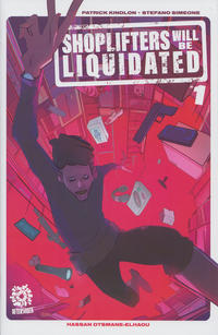 Cover Thumbnail for Shoplifters Will Be Liquidated (AfterShock, 2019 series) #1 [Cover A Stefano Simeone]