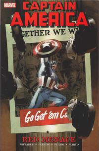 Cover Thumbnail for Captain America: Red Menace (Marvel, 2006 series) #1