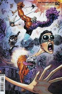 Cover Thumbnail for The Terrifics (DC, 2018 series) #23 [Gabriel Hardman Cover]