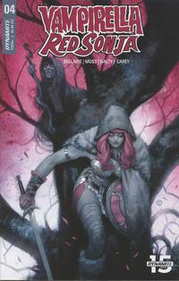 Cover Thumbnail for Vampirella/Red Sonja (Dynamite Entertainment, 2019 series) #4 [Cover A Julian Totino Tedesco]