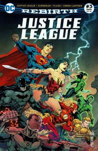 Cover Thumbnail for Justice League Rebirth (Urban Comics, 2017 series) #3