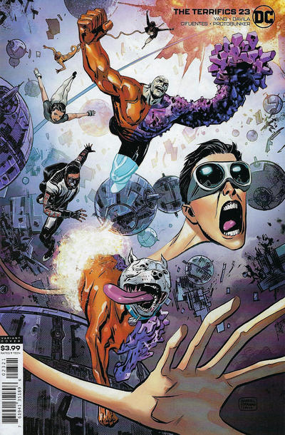 Cover for The Terrifics (DC, 2018 series) #23