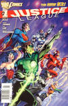 Cover for Justice League (DC, 2011 series) #1 [Newsstand]