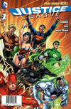 Cover Thumbnail for Justice League (2011 series) #1 [Walmart Bundle Pack Exclusive]