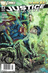 Cover for Justice League (DC, 2011 series) #2 [Newsstand]