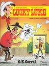 Cover for Lucky Luke (Egmont Ehapa, 1977 series) #71 - O.K. Corral