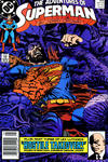 Cover Thumbnail for Adventures of Superman (1987 series) #454 [Newsstand]