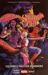 Cover for The Unbeatable Squirrel Girl (Marvel, 2015 series) #9 - Squirrels Fall Like Dominos