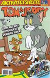 Cover for Tom & Jerry Aktivitetshefte (Bladkompaniet / Schibsted, 2001 series) #4/2008
