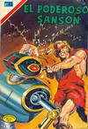 Cover for El Poderoso Sansón (Editorial Novaro, 1972 series) #22