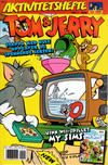 Cover for Tom & Jerry Aktivitetshefte (Bladkompaniet / Schibsted, 2001 series) #2/2008