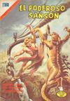 Cover for El Poderoso Sansón (Editorial Novaro, 1972 series) #63