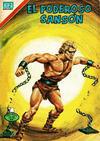 Cover for El Poderoso Sansón (Editorial Novaro, 1972 series) #97