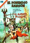 Cover for El Poderoso Sansón (Editorial Novaro, 1972 series) #72