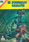 Cover for El Poderoso Sansón (Editorial Novaro, 1972 series) #87