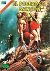 Cover for El Poderoso Sansón (Editorial Novaro, 1972 series) #49