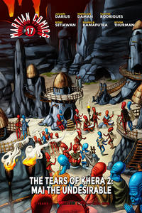 Cover Thumbnail for Martian Comics (Martian Lit, 2014 series) #17