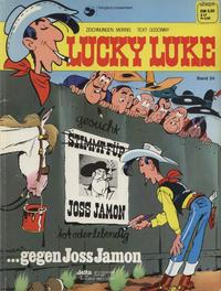 Cover Thumbnail for Lucky Luke (Egmont Ehapa, 1977 series) #24 - ...gegen Joss Jamon