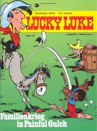 Cover Thumbnail for Lucky Luke (Egmont Ehapa, 1977 series) #26 - Familienkrieg in Painful Gulch