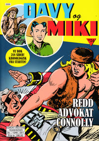 Cover Thumbnail for Davy og Miki (Hjemmet / Egmont, 2014 series) #24