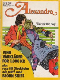 Cover Thumbnail for Alexandra (Williams Förlags AB, 1971 series) #6/1972