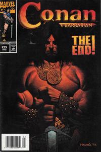 Cover Thumbnail for Conan the Barbarian (Marvel, 1970 series) #275 [Australian]