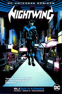 Cover Thumbnail for Nightwing (DC, 2017 series) #2 - Back to Bludhaven