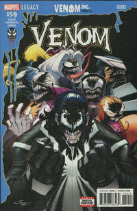 Cover Thumbnail for Venom (Marvel, 2017 series) #159 [Second Printing]