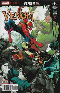 Cover Thumbnail for Venom (Marvel, 2017 series) #160 [Gerardo Sandoval]