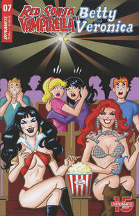 Cover Thumbnail for Red Sonja and Vampirella Meet Betty and Veronica (Dynamite Entertainment, 2019 series) #7 [Cover D Dan Parent]