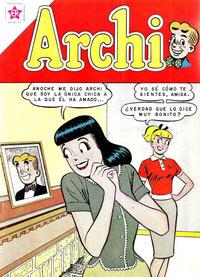 Cover Thumbnail for Archi (Editorial Novaro, 1956 series) #60